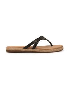Ugg Womens Black Annice Flip Flops