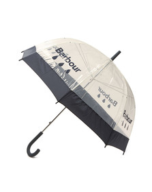 Barbour Lifestyle Womens Blue Raindrop Umbrella