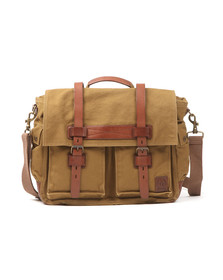 Belstaff Mens Green Colonial Messenger Bag