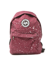 Hype Unisex Red Speckle Backpack