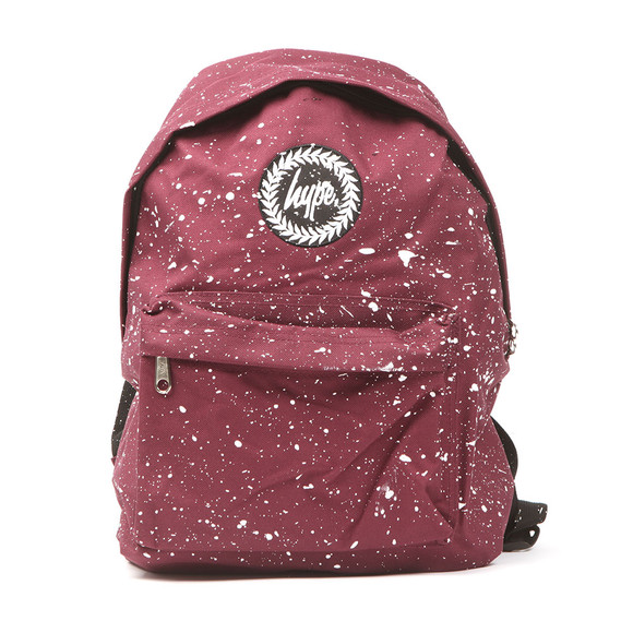 Hype Unisex Red Speckle Backpack main image