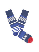 Ecru Stripe Sock