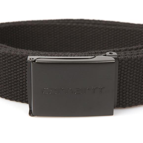 Carhartt WIP Mens Black Clip Belt Tonal main image