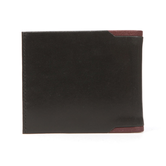 Ted Baker Mens Black Sidd Leather Bifold Wallet main image