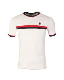 Fila Mens White Razee Crew T Shirt