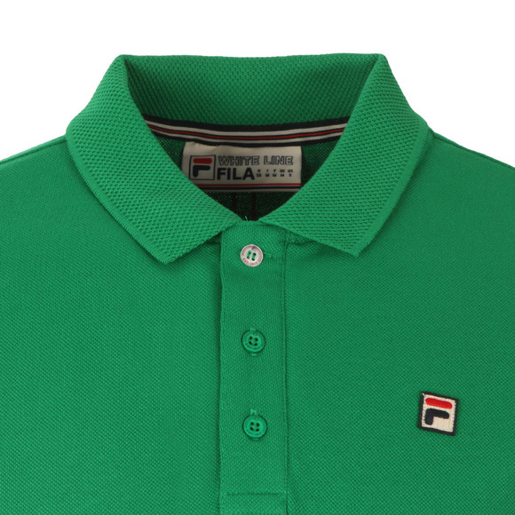 Fila Mens Green Brizzi Polo Shirt main image