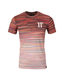 Eleven Degrees Mens Multicoloured Sahara Sub Tee