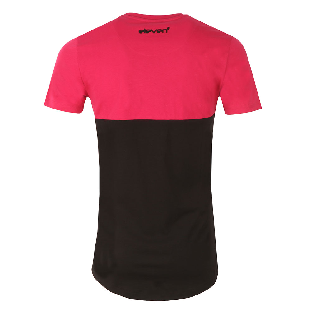 Curved Cut and Sew T Shirt main image
