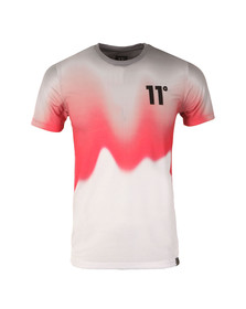 Eleven Degrees Mens White Volcanic Sub  Tee