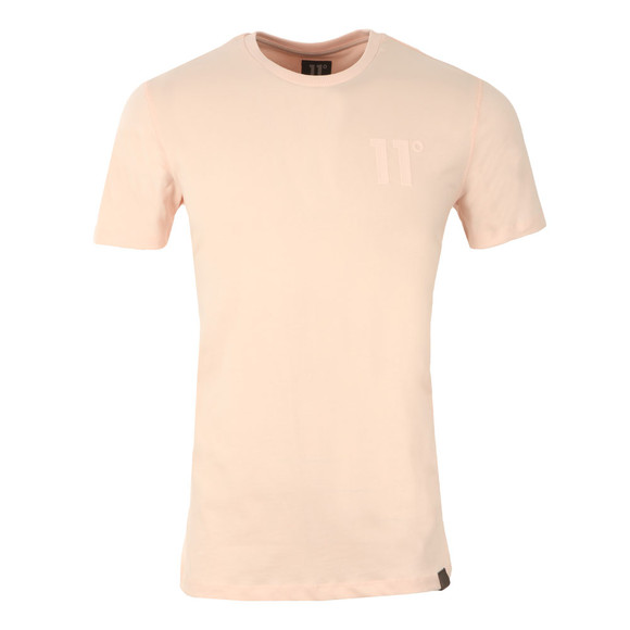 Eleven Degrees Mens Pink Core T-Shirt main image