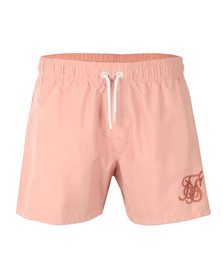 Sik Silk Mens Pink Standard Swim Shorts