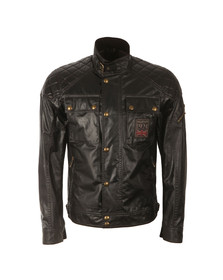 Belstaff Mens Black Champion Patch Blouson