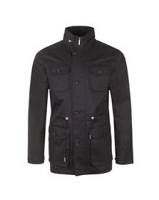 Henri Lloyd Mens Blue Gavinton Field Jacket