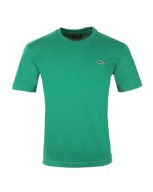 Lacoste Sport Mens Green TH7618 Plain T-Shirt