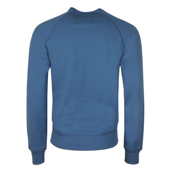 Franklin & Marshall Mens Blue Embroidered Logo Sweat main image