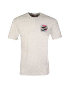 Franklin & Marshall Mens Grey Surf Shop Logo T Shirt