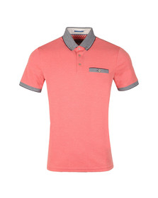 Ted Baker Mens Pink Shapriro S/S Oxford Polo