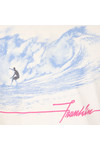 Franklin & Marshall Mens White Surfing Print T Shirt