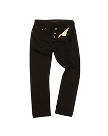 Nudie Jeans Mens Black Dude Dan Jean