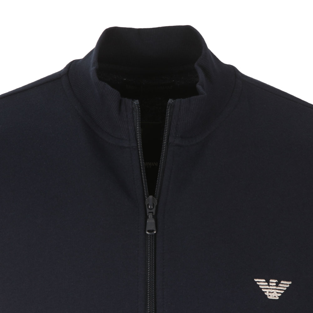 Full Zip Embroidered Logo Sweat main image