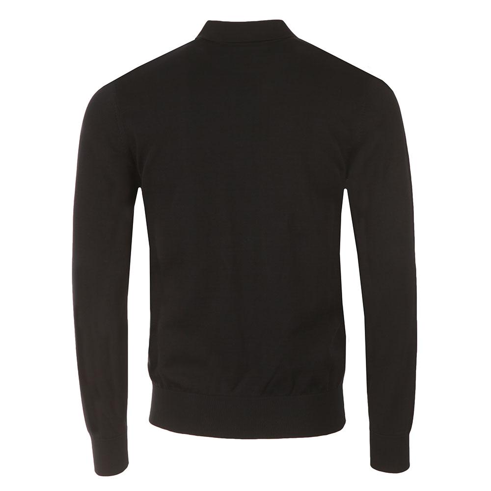 Knitted Long Sleeve Polo Shirt main image