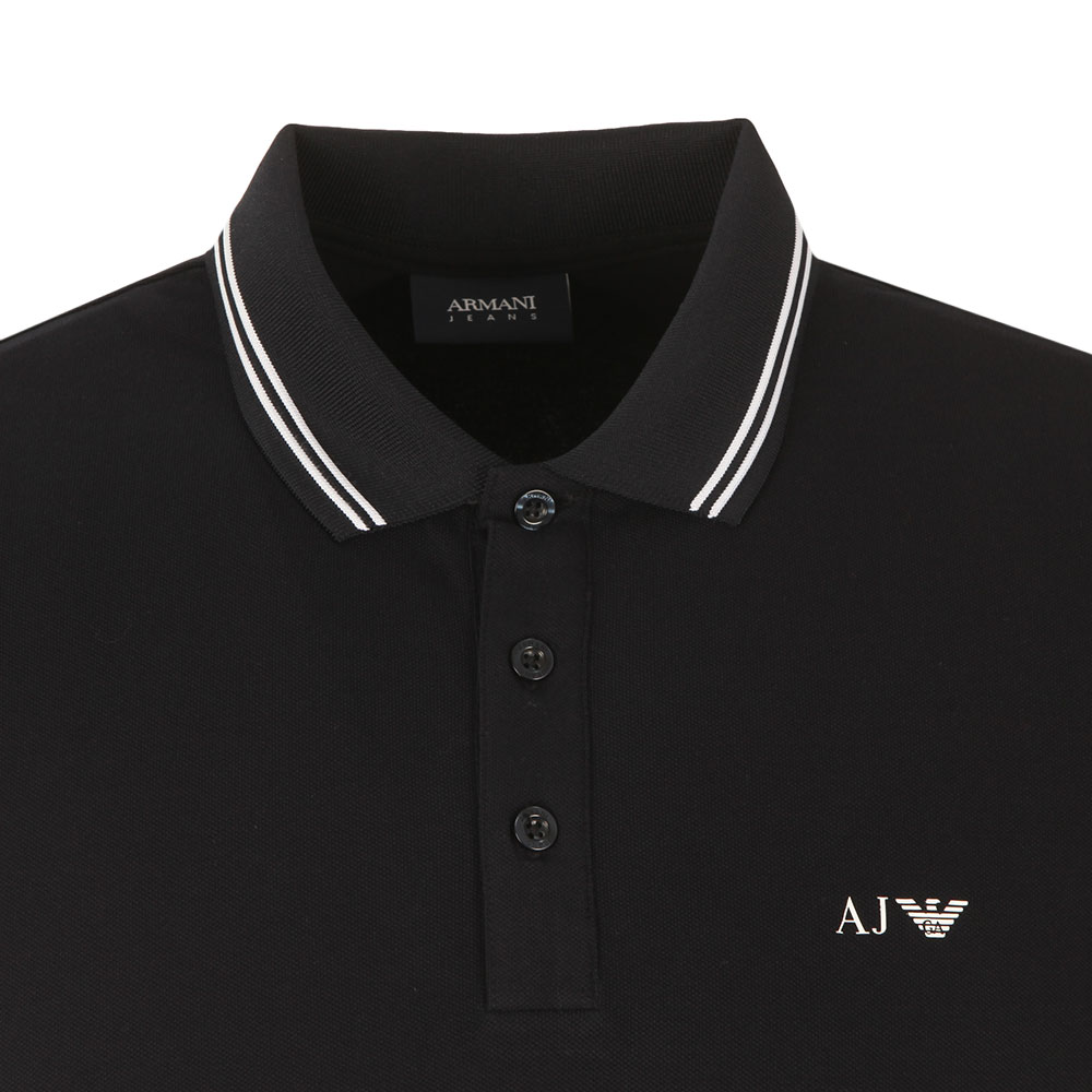 b019ef89 Armani Jeans Twin Tipped Polo Shirt | Oxygen Clothing