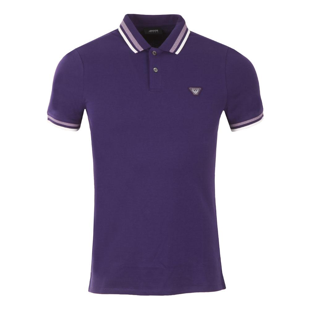 3Y6F20 Tipped Polo Shirt main image