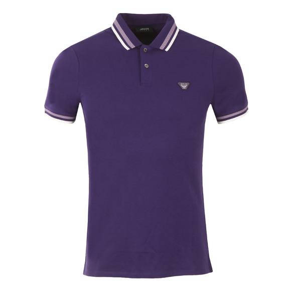 armani polo purple