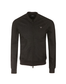 Armani Jeans Mens Black Full Zip Sweat