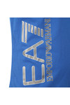 EA7 Emporio Armani Mens Blue Side Logo T Shirt