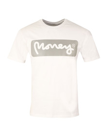 Money Mens White Reflective Sig T Shirt