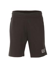 EA7 Emporio Armani Mens Blue Small Logo Sweat Shorts