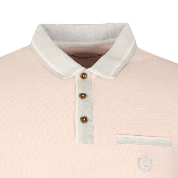 Henri Lloyd Mens Pink Highland Regular Polo main image