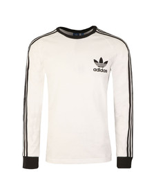 Adidas Originals Mens White L/S California Tee
