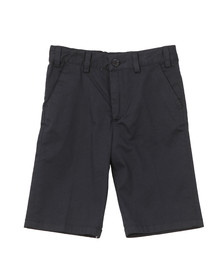 Paul & Shark Cadets Boys Blue Plain Chino Short
