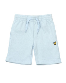 Lyle And Scott Junior Boys Blue Marl Fleece Short
