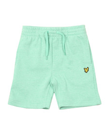 Lyle And Scott Junior Boys Green Marl Fleece Short