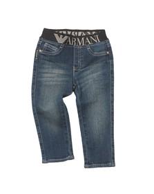 Armani Baby Boys Blue 3YHJ07 Jean