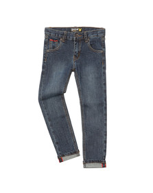 Lyle And Scott Junior Boys Blue Selvage Skinny Jean