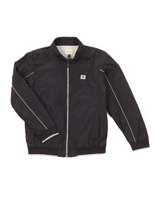 Armani Junior  Boys Blue Lightweight Bomber