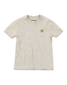 Lyle And Scott Junior Boys Grey Plain Crew T Shirt