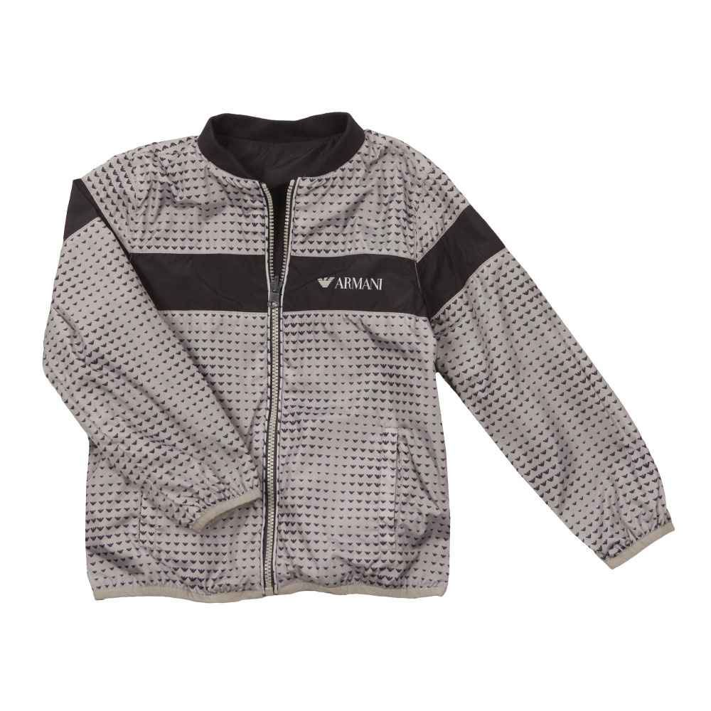 Reversible Patterned Bomber Jacket main image