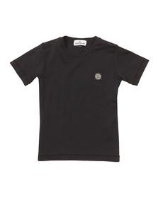 Stone Island Junior  Boys Blue Square Patch Logo T Shirt