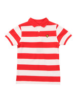 Block Stripe Polo Shirt