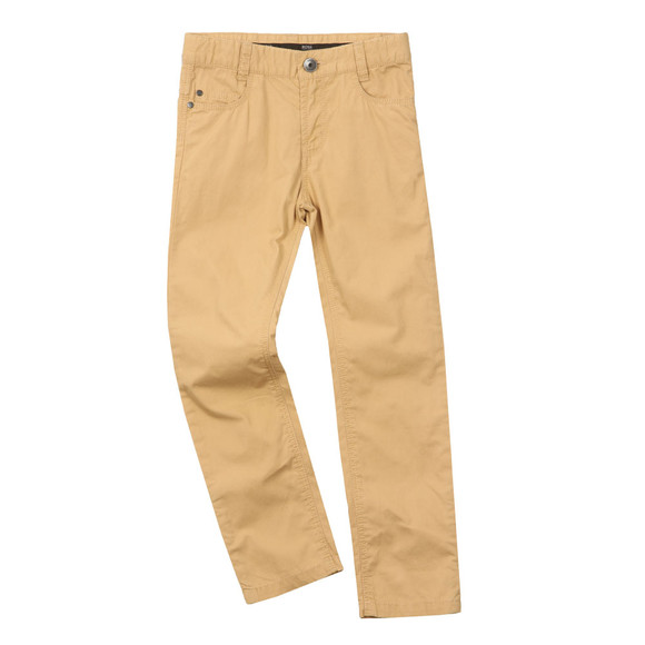 BOSS Bodywear Boys Beige J24501 Chino main image
