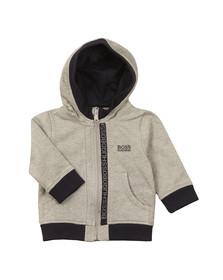 Boss Boys Grey Baby J05P02 Zip Hoody