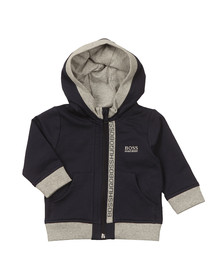 BOSS Baby Boys Blue J05P02 Zip Hoody