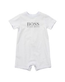 Boss Boys Blue Baby Logo T Shirt All In One