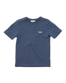 Boss Boys Blue Boys Small Embroidered Logo T Shirt