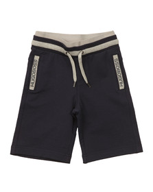 Boss Boys Blue Boys Logo Jersey Shorts